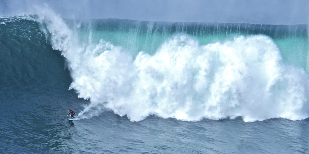 When surfing gets extreme along the Wild Atlantic Way