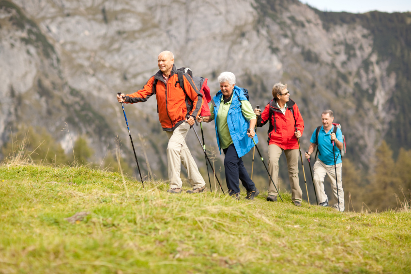 Hiking for Older people