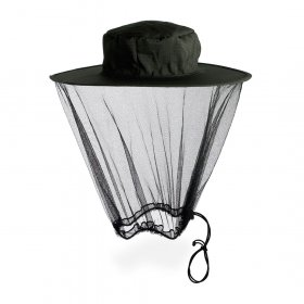 Pop Up Mosquito and Midge Head Net Hat