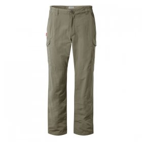 Craghoppers Mens NosiLife Cargo Trouser - Beige