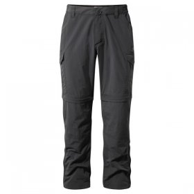 Men's NosiLife Convert Trousers - Black Pepper