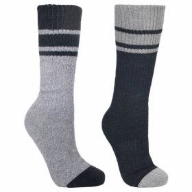 Trespass Hitched 2pk Anti Blister Sock