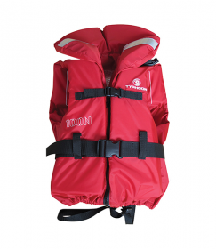 Typhoon 100N Life Jacket Adult - Red