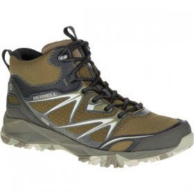 Merrell Mens Capra Bolt Mid GTX Boot - Brown