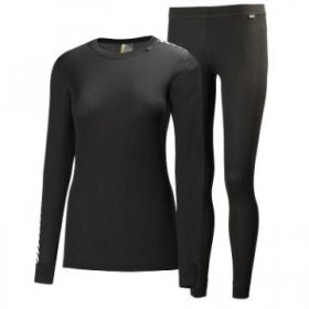 Helly Hansen Womens Comfort Dry 2 Pack Base Layer
