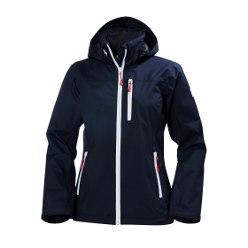 Helly Hansen Womens Crew Hooded Jacket Front