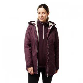 Craghoppers Womens Madigan Classic Thermic II Jacket Maroon