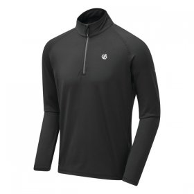 Mens Fuse Up II Core Stretch Fleece  - Black