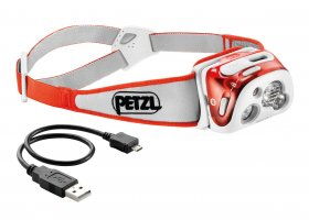 Petzl Reactik+ Programmable Head Torch