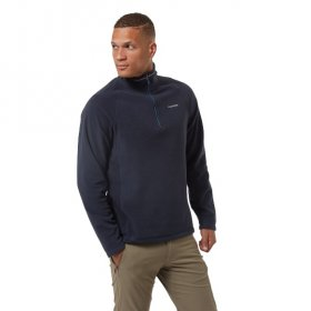 Men's Corey Half Zip Fleece - dark navy