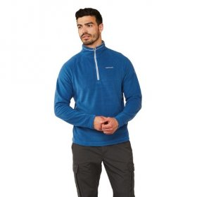 Men's Corey Half Zip Fleece - Deep blue