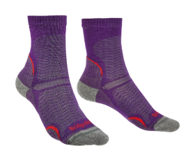 Women's Hike Ultralight T2 Crew Sock - Purple
