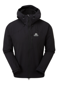 Mens Frontier Hooded Softshell Jacket