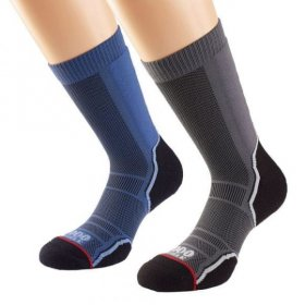 Trek Sock Twin Pack - Mens