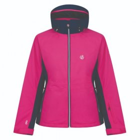 Dare2b women's Thrive Ski jacket cyber pink front