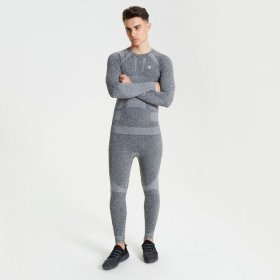 Mens In The Zone Baselayer Grey Model