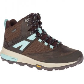 Merrell Zion Mid Gtx Seal Brown 1
