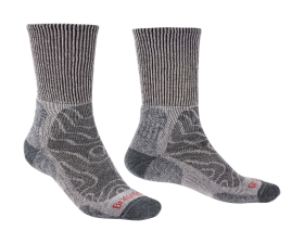 Men's Hike Lightweight Comfort Sock - Grey