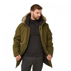 Men's Bishorn Parka Jacket - Open