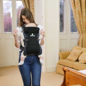 Acorn Baby Carrier - On Body