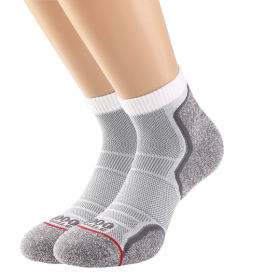 Run Anklet Single Layer Sock Twin Pack