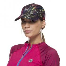 Pro Run Cap Wira Black S/M - on